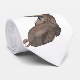 Mr. Moose Has an Eye on You Neck Tie