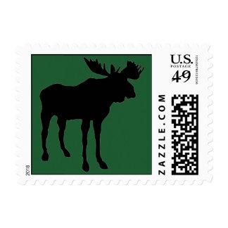 Mr. Moose Stamp