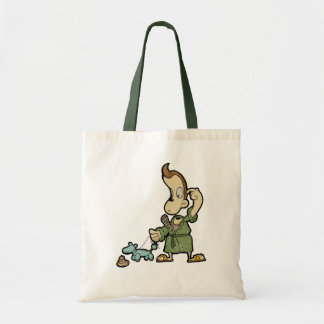 Mr.Morning Balloon head Budget Tote Bag