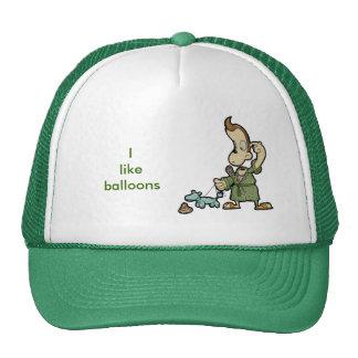 Mr.Morning Balloon head Hat