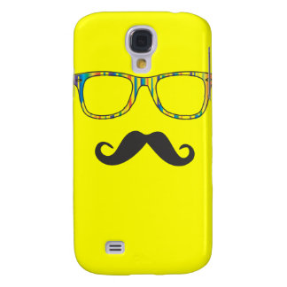 Mr Moustache Hipster Samsung Galaxy S4 Cases