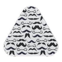 Mr. Moustache Hipster Pattern Bluetooth Speaker