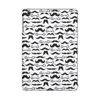 Mr. Moustache Hipster Pattern iPad Mini Retina Covers