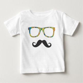 Mr Moustache Hipster Tee Shirt