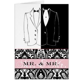 Mr. & Mr. II Stationery Note Card