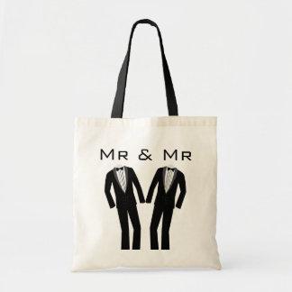 Mr & Mr Keepsake Tote Tote Bags