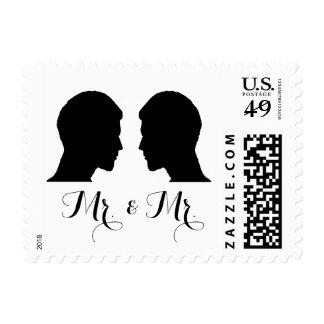 Mr. & Mr. Postage Stamps