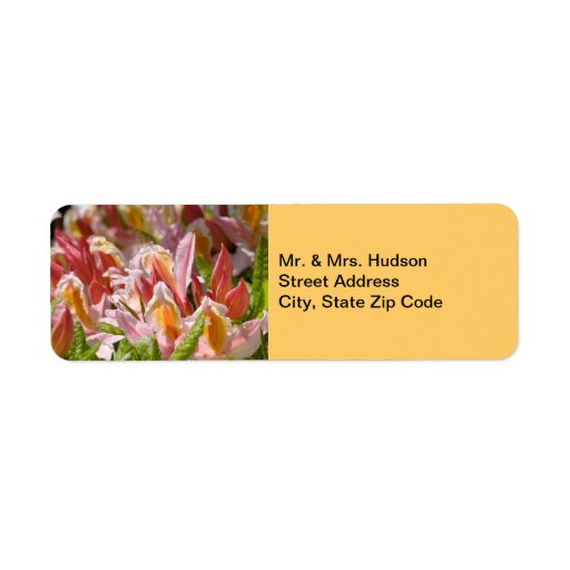 Mr. & Mrs address labels marriage gifts showers