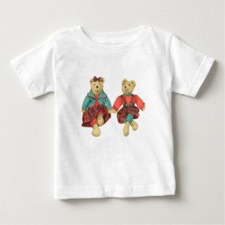 Mr. & Mrs. Bear Baby T-Shirt