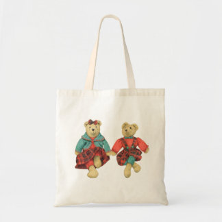 Mr. & Mrs. Bear Budget Tote #1 Tote Bags