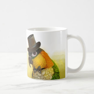 Mr & Mrs Caique Realistic Painting Coffee Mug