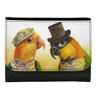 Mr & Mrs Caique Realistic Painting Wallets For Women