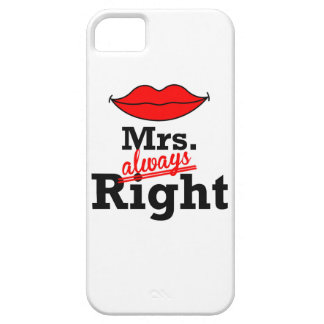 """Mr & Mrs"" iPhone 5 Case"