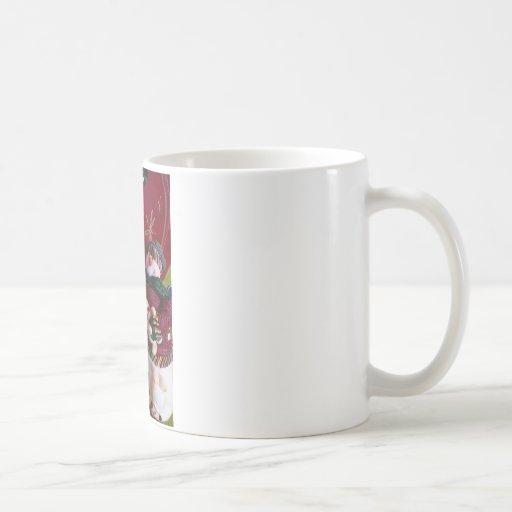 mr. & mrs. claus mugs