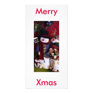 mr. & mrs. claus photo card
