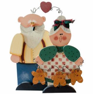 Mr & Mrs Claus Statuette