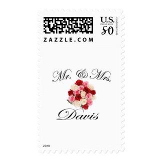 Mr & Mrs. Davis Postage