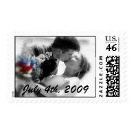 Mr. & Mrs. DonovanJuly 4th, 2009 Postage Stamp
