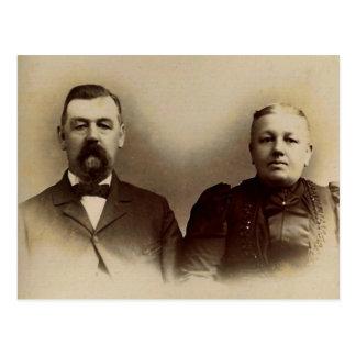 Mr. & Mrs. Francis LAHR Postcard