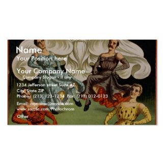 Mr & Mrs Herbert L. Flint Business Card Templates