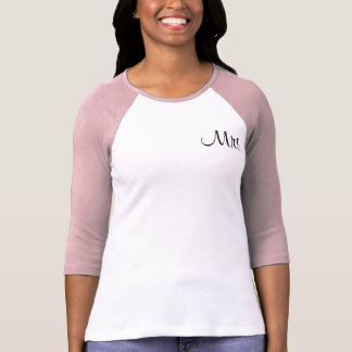 Mr./Mrs. Just Married T-Shirt