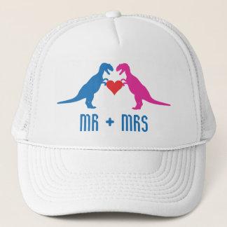 Mr+Mrs - Love Dinosaurs Trucker Hat