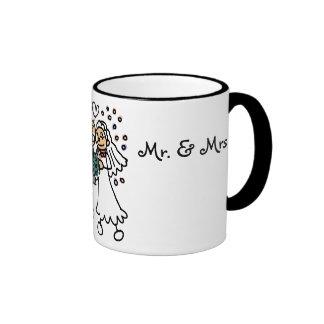 """Mr. & Mrs."" Coffee Mugs"