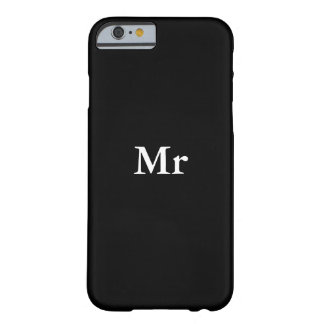 Mr.&Mrs. Pares a juego Funda De iPhone 6 Barely There