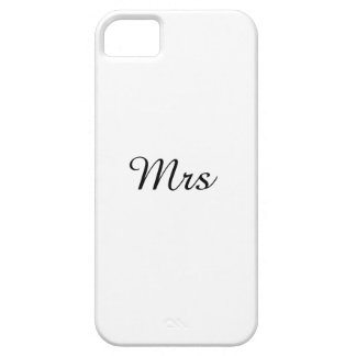 Mr.&Mrs. Pares a juego Funda Para iPhone 5 Barely There