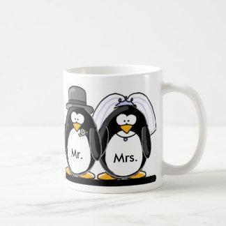 Mr & Mrs Penguin Coffee Mug
