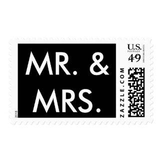 Mr. & Mrs. Postage