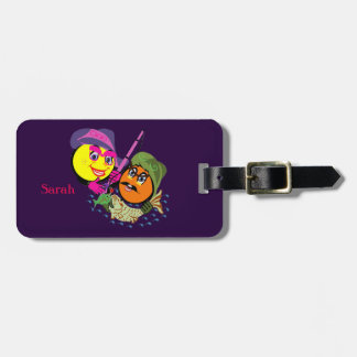 Mr. & Mrs. Smiley's Fishing Couple Fresh Catch Luggage Tag