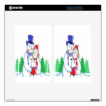 Mr & Mrs Snow Decal For Kindle Fire