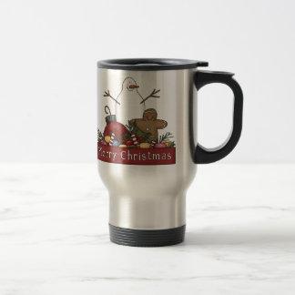 Mr & Mrs Snowman Coffee Mugs