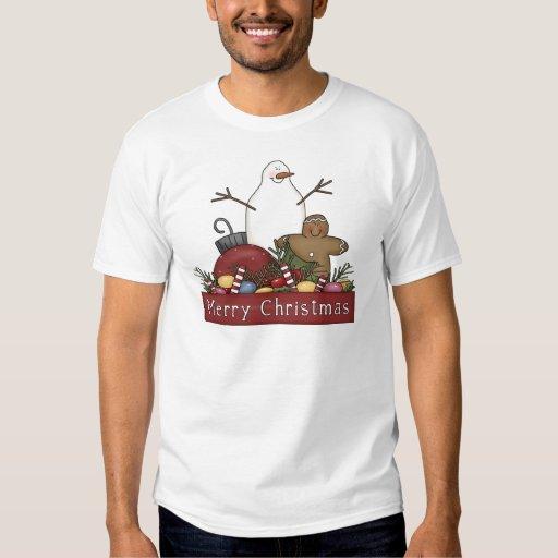 Mr & Mrs Snowman T Shirt