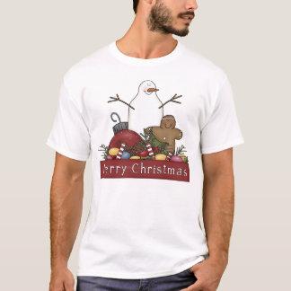 Mr & Mrs Snowman T-Shirt
