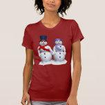 Mr. & Mrs. Snowman T-shirt