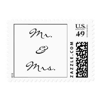 Mr.&Mrs. Stamp