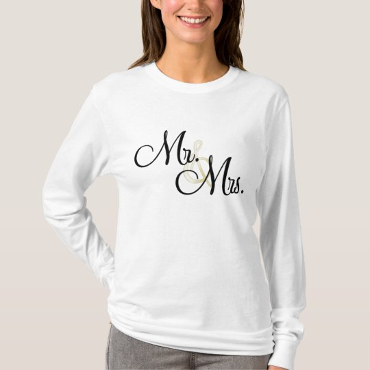 Mr. & Mrs. T-Shirt