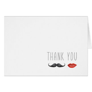 Mr. & Mrs. Thank You Card