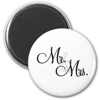 Mr. & Mrs. Unique Items Magnet