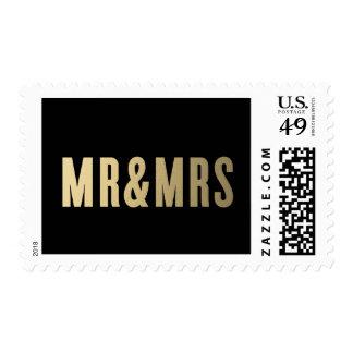 Mr. & Mrs. | Wedding Postage