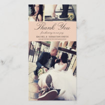 MR & MRS | WEDDING THANK YOU CARD