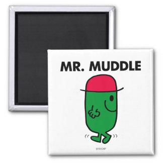 Mr. Muddle | Walking Backwards Magnet