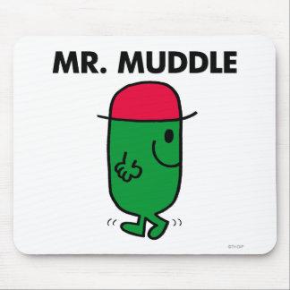 Mr. Muddle | Walking Backwards Mouse Pad