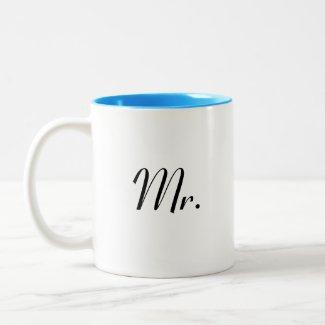 Mr mug - of Mr & Mrs mu set