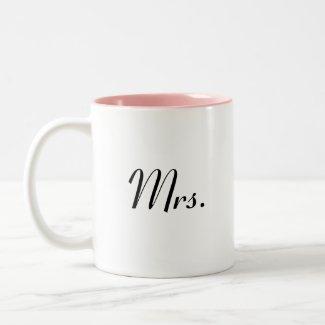Mr mug - of Mr & Mrs mugs set