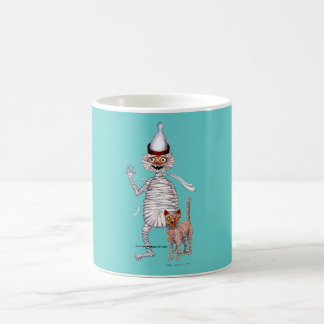 Mr Mummific and His Cat Coffee Mug