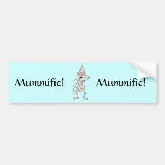 Mr Mummific Bumper Sticker