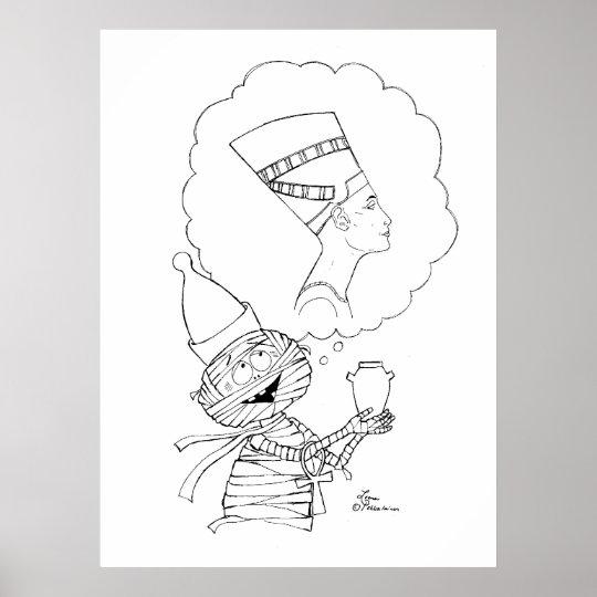 Mr Mummific in Love Poster